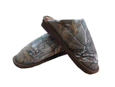 Men's Slippers Camo Realtree Mule Camouflage Comfy Warm Shooting Hunting RRP £25